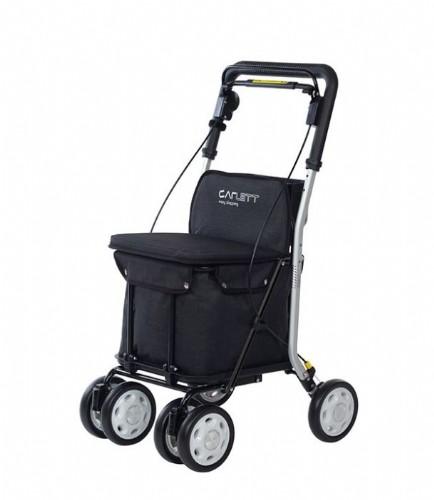 Carlett caminado 800 con ruedas negro