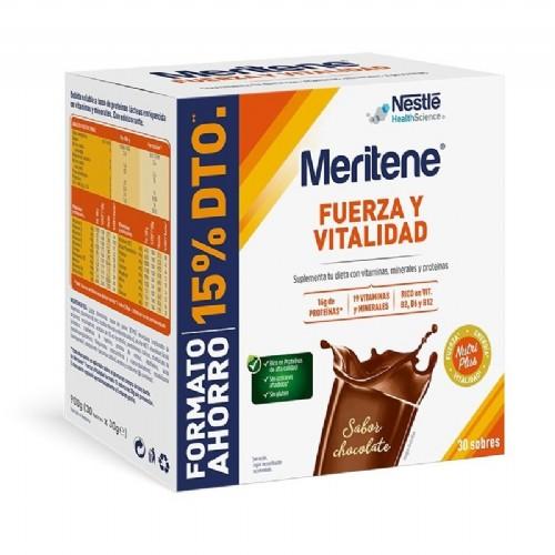 Meritene active chocolate pack 30 sobres