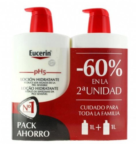 Eucerin locion hidratante 60% 2ºu