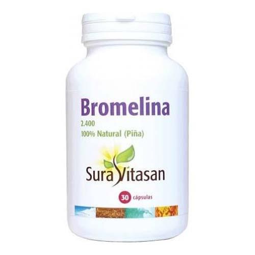 Sura vitasan bromelina 2.400 500 mg 30 caps