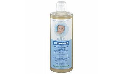 Klorane bebe champu suave desenredante (500 ml)