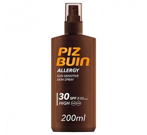 Piz buin allergy spray piel sensible al sol spf 30 - proteccion alta (200 ml)