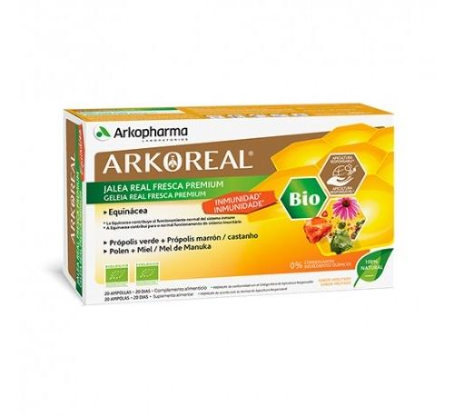 Arkoreal jalea real inmunidad bio (15 ml 20 ampollas)