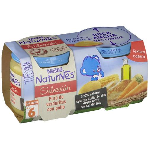 Nestle naturnes seleccion pure verduritas pollo (200 g 2 u)