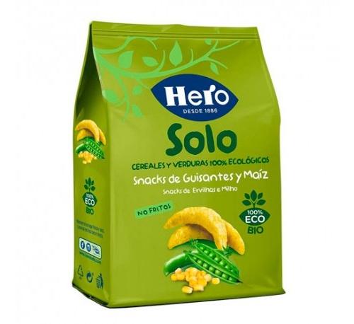 Hero solo snack de guisantes (50 g)