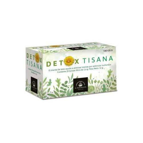 Detox tisana el naturalista (20 bolsas filtro)