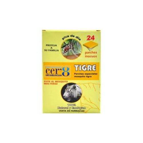 Cer'8 antimosquitos tigre 24 parch