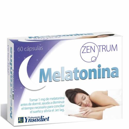 Melatonina pure+ (60 capsulas)