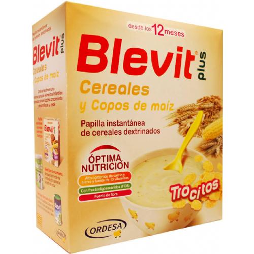 Blevit plus cereales y copos de maiz (600 g)