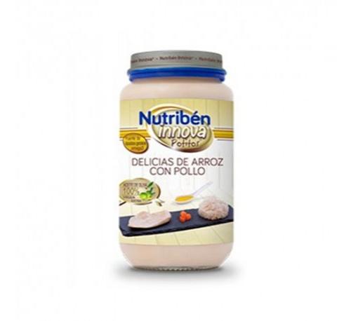 Nutriben innova delicias de arroz con pollo (235 g)