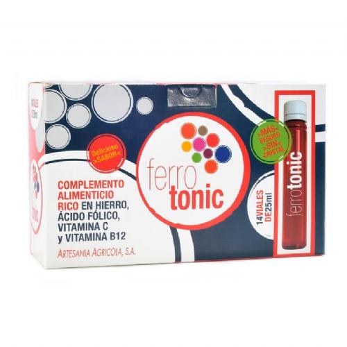 Artesania ferrotonic 14 viales