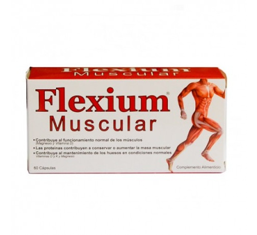 Flexium muscular 60 caps