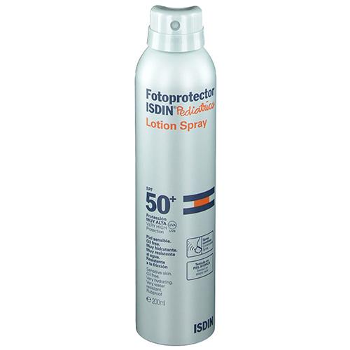 Fotoprotector isdin pediatrics lotion spray spf 50 (250 ml)