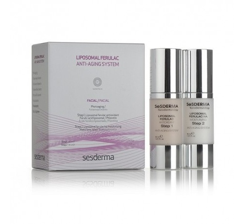 Liposomal ferulac antiaging system (2 step) - lipoceutical (30 ml + 30 ml)