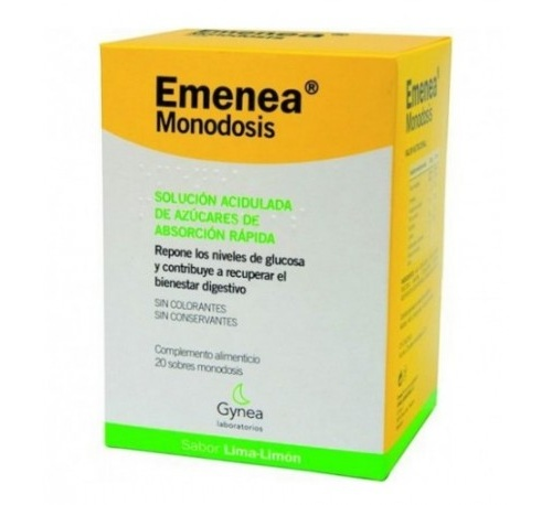 Emenea sobres monodosis (lima 10 ml 20 sobres)
