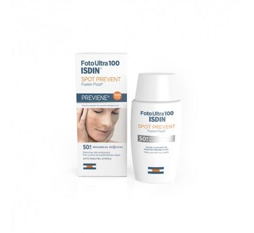 Fotoultra 100isdin spot prevent fusion fluid (50 ml)