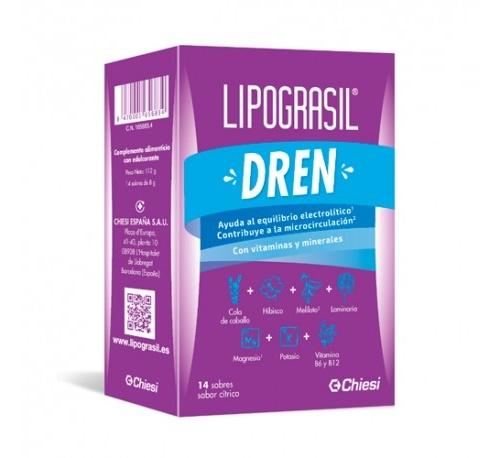 Lipograsil dren (8g 14 sobres citricos)