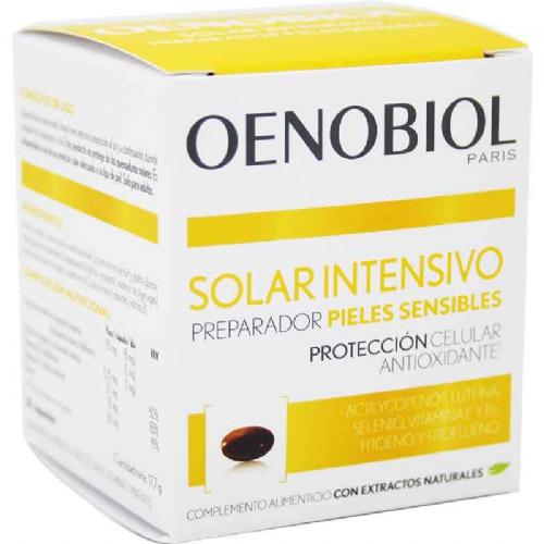 Oenobiol solar intensivo preparador pieles sensibles (30 capsulas)