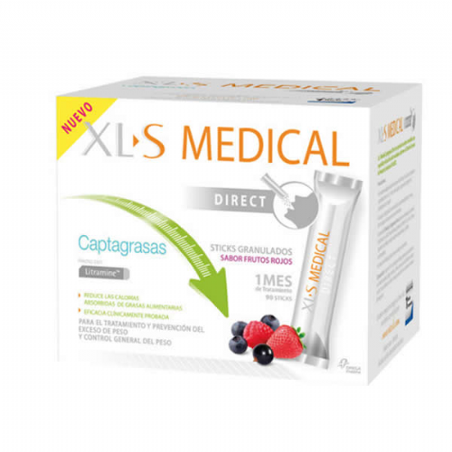Xls medical direct sticks captagrasas (90 sticks)