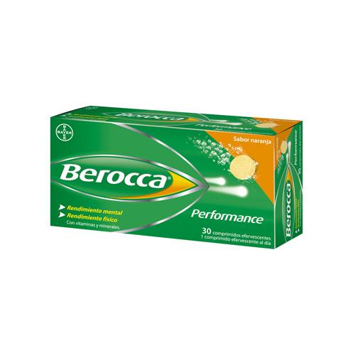 Berocca performance (naranja 30 comprimidos efervescentes)