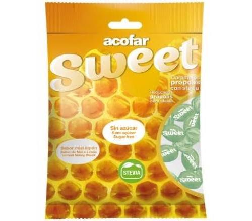 Acofarsweet caramelos s/ azucar (propolis con stevia 60 g)