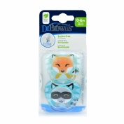 Chupete silicona - dr brown´s prevent classic animal faces (niño 0-6 m t-1)