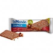 Bimanan bekomplett snack cereales (20 barritas 20 g sabor chocolate con leche)