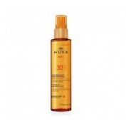 Nuxe sun huile bronzante spf 30