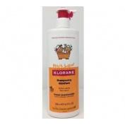 Petit junior champu desenredante - klorane (1 envase 500 ml perfume melocoton)