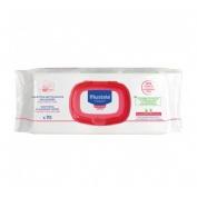 Toallitas limpiadoras confort sin perfume (70 toallitas)