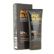 Piz buin allergy crema facial piel sensible al sol spf 50+ - proteccion muy alta (50 ml)