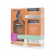 Neutrogena visibly clear facial pack hidratante + limpiador