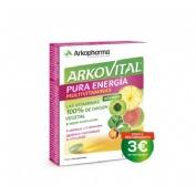 Arkovital pura energia multivitaminico (30 comprimidos)