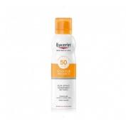 Eucerin sun protection 50 spray transparente - dry touch sensitive protect (200 ml)