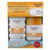 Eucerin sun protection 50+ spray infantil - sensitive protect (1 envase 200 ml)