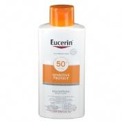 Eucerin sun protection 50+ locion extra light - sensitive protect (1 envase 400 ml)