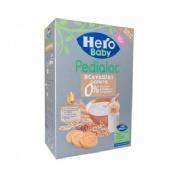 Pedialac papilla 8 cereales con galletas - hero baby (340 g)