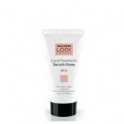 Maquillaje facial beter liquid foundation (smooth honey)