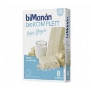 Bimanan bekomplett snack barritas (yogur 8 barritas)