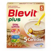 Blevit plus superfibra papilla 5 cereales (600 g)
