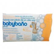 Babybaño esponja de un solo uso (25 u)