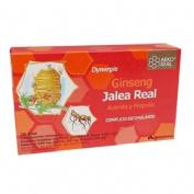 Arkoreal jalea real + ginseng (15 ml 20 ampollas)
