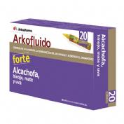 Arkofluido alcachofa forte (15 ml 20 ampollas bebibles)