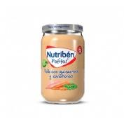 Nutriben pollo con guisantes y zanahorias (potito 235 g)