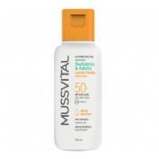 Fotoprotector mussvital solar spf 50 leche (1 envase 100 ml)