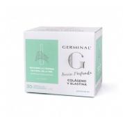 Germinal accion profunda colageno y elastina (1 ml 30 ampollas)
