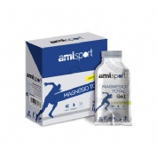 Magnesio total gel - amlsport (sabor limon 12 sobres 20 ml)