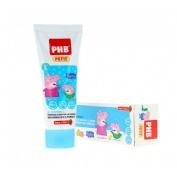 Phb petit gel dentifrico infantil (75 ml peppa)