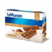 Bimanan barrita cereales al cacao c/ chocochips (31 g 8 barritas)