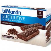 Bimanan beslim sustitutivo barritas (chocolate fondant 10 barritas x 31 g)